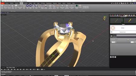 Melhor software 3D para joalheria - Rhinoceros, Rhinogold ou
